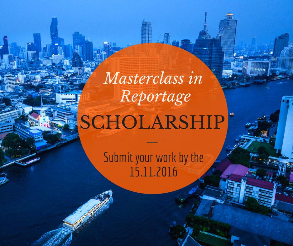 Photography Workshop 2017 Scholarship Bangkok